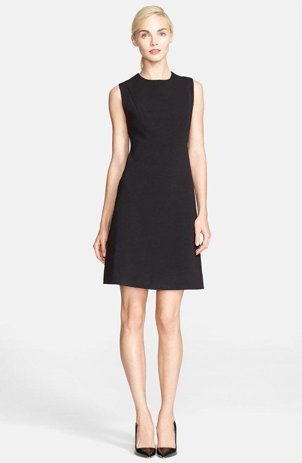 Classic Black Sheath Dress Personal Style Pinterest Dresses