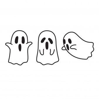 Premium Vector   Halloween ghost cartoon