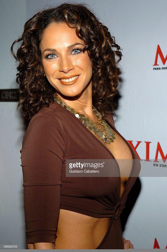 Carmen Dominicci poses at Maxim En Espanol magazines 4th