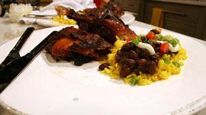 Jamaican Jerk Chicken, mm-mmm good!