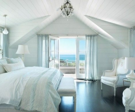 Schlafzimmer-am-Meer-bett-sofa-lampe Wohnungen Pinterest Html - lampe für schlafzimmer