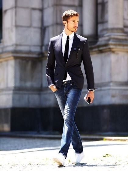How to look like Justin Timberlake with Suit and Sneakers   Fashion ... a1deada7d4cd