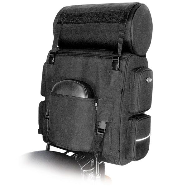 T Bags Expandable With Top Roll Net Bag Motorcycle Luggage