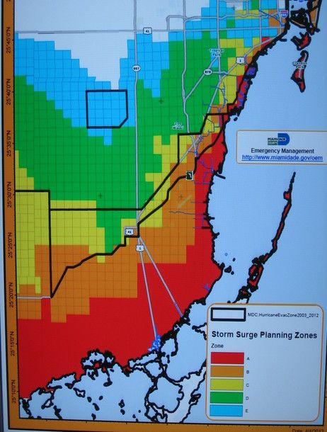 Storm Surge Map Miami : storm, surge, miami, Remapping, Awareness, Storm, Surge, Danger, Surge,, National, Hurricane, Center,