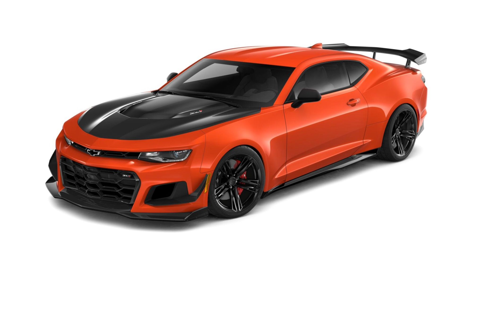 Rendering Of A 2019 Camaro Zl1 1le Painted In Crush Chevy Camaro Zl1 2019 Camaro Camaro Zl1