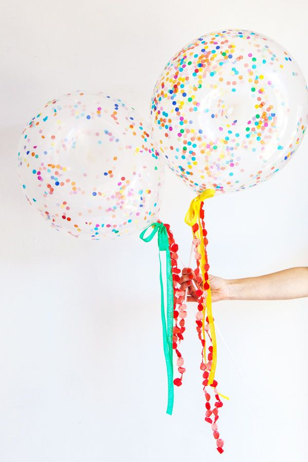 Donuts with Sprinkles Balloon DIY Oh Happy Day