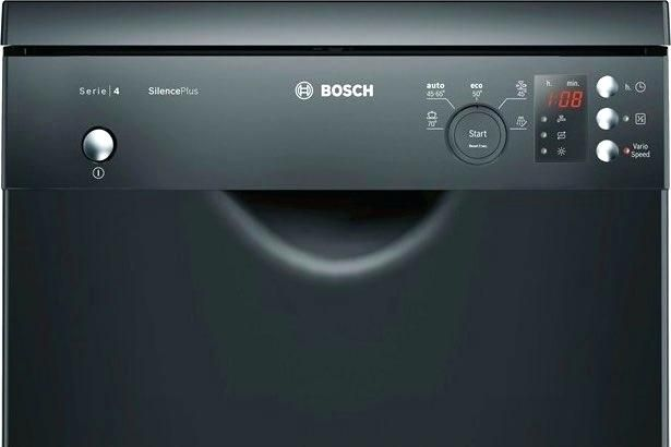Lavastoviglie Sotto Piano Cottura Bosch Lavastoviglie Slim Sottopiano 9  Coperti A 45 Cm Inverter Nero Sps50e56eu