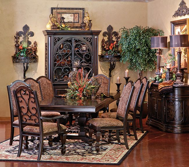 1675 Best Tuscan Decor Images On Pinterest: Tuscan Dining Room