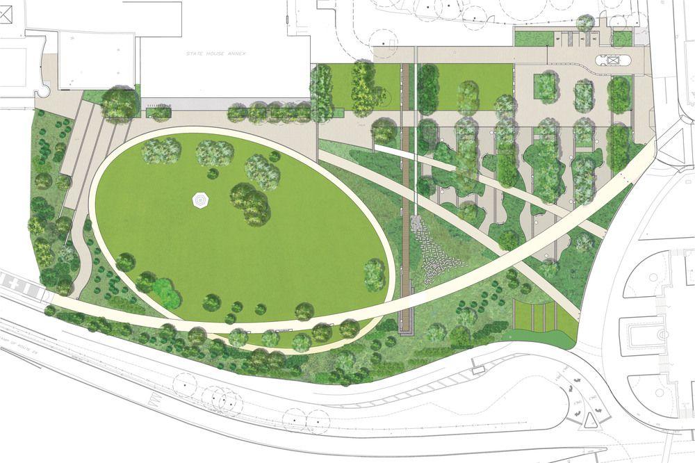 Trenton Plan 2 Jpg 1000 666 Landscape Design Plans Large Yard Landscaping Landscape