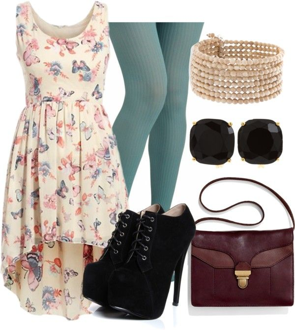"""""""butterfly dress"""" by haterism on Polyvore"""