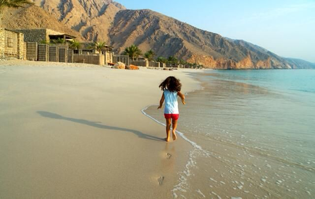 #HOTELS #SWD #GREEN2STAY Six Senses Zighy Bay A morning walk along the beach is priceless. Now that's a great way to start the weekend .... #wishyouwerehere #daydreaming #Oman