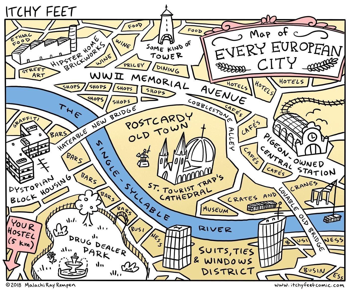 Europe European City Cities Map Maps Europeancity Europeancities Travel Traveling Europe European City Cities Map Maps Europeancity E Map Funny Humor