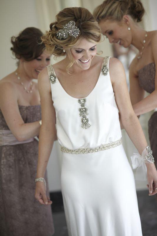 Db112888 Sul0126 Art Deco Wedding Dress Headpiece Wedding
