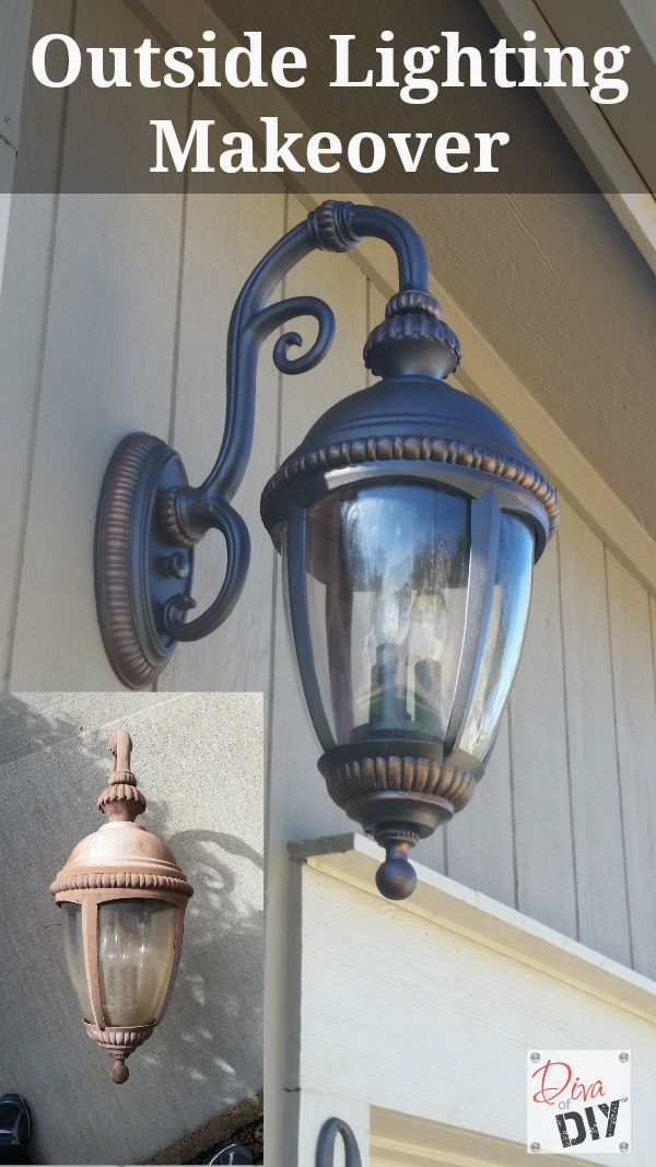 do it yourself outdoor lighting. Don\u0027t Throw Away Those Faded Outdoor Lighting Fixtures. Add Instant Curb Appeal With This Light Makeover. Quick And Easy DIY ! Do It Yourself A