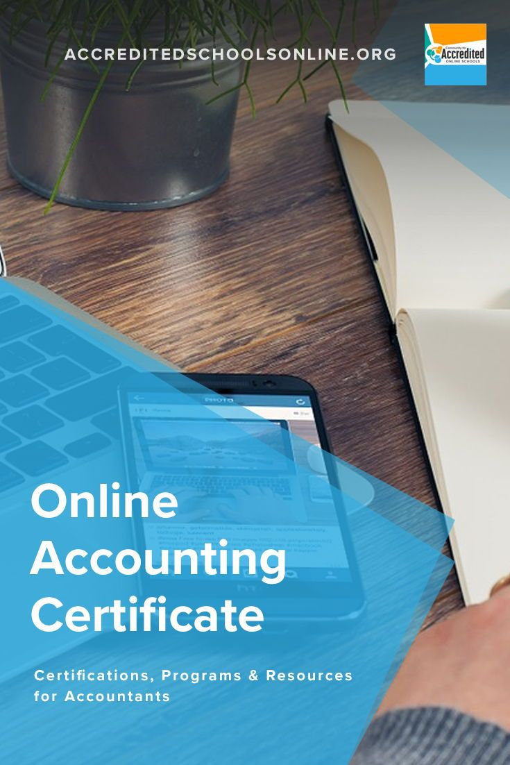 Best Online Accounting Certificate Programs For Accounting Careers