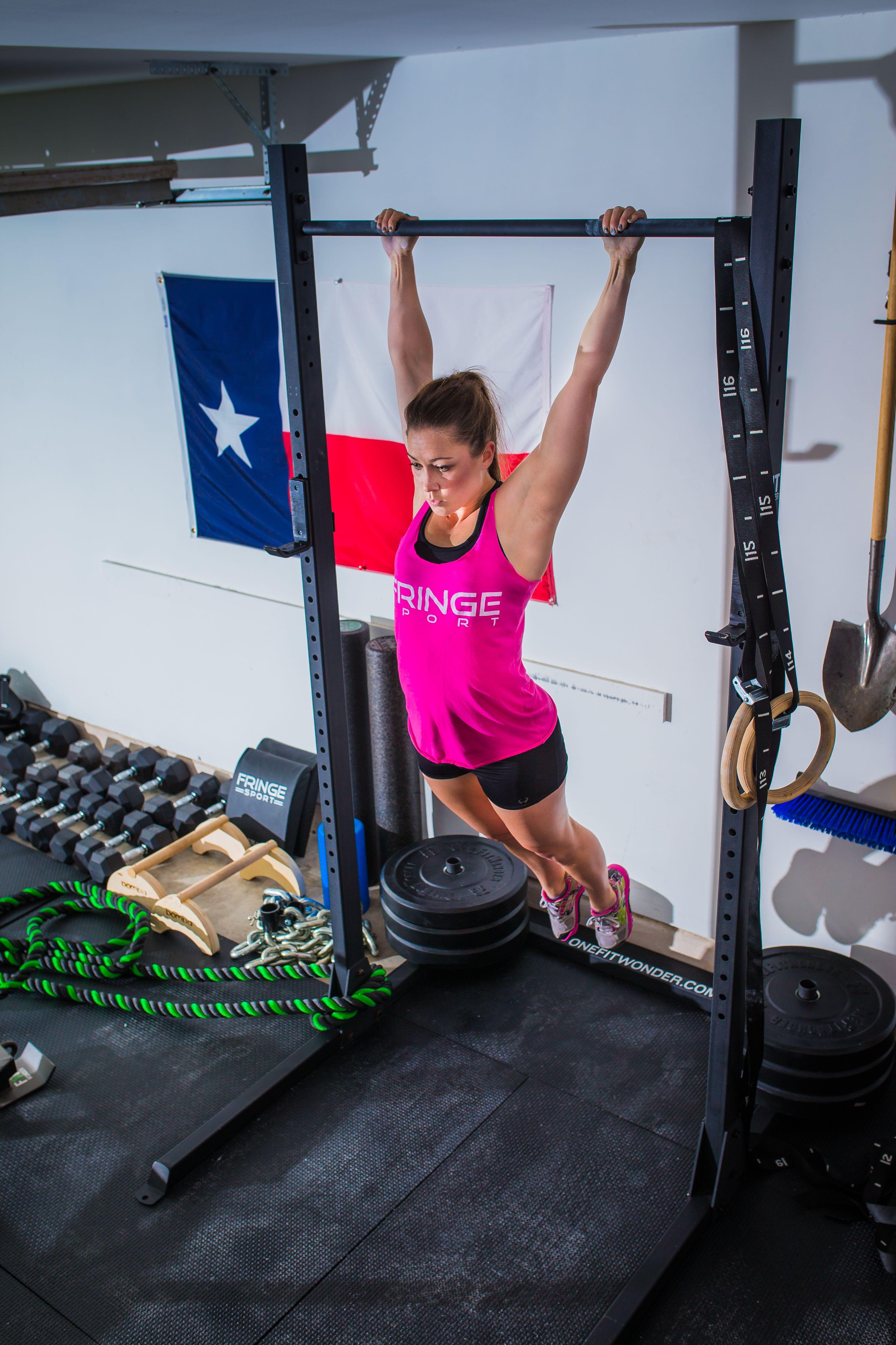 Squat Rack with Pullup Bar Ninja warrior gym, Squats
