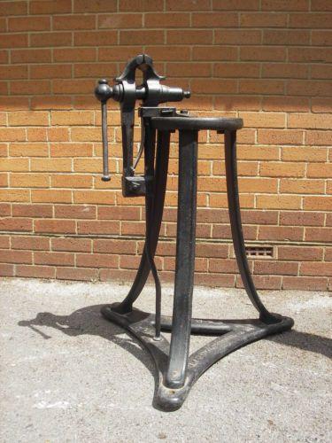 Blacksmiths Leg Vice And Stand