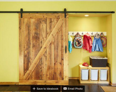 Wohnzimmerschrank rustikal ~ Ft big schiebe barn door spur rustikalen schwarz land stil barn