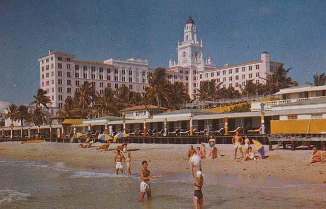 Roney Plaza Hotel Miami Beach 1926 1968
