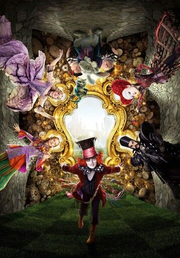 Alice Through The Looking Glass Through The Looking Glass