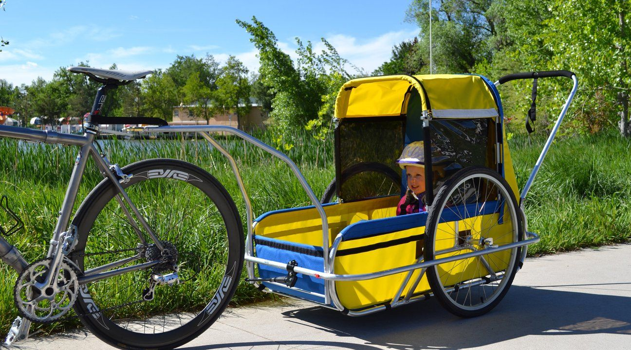 Cycletote Bicycle Trailers For Children Disabled Teens And Adults