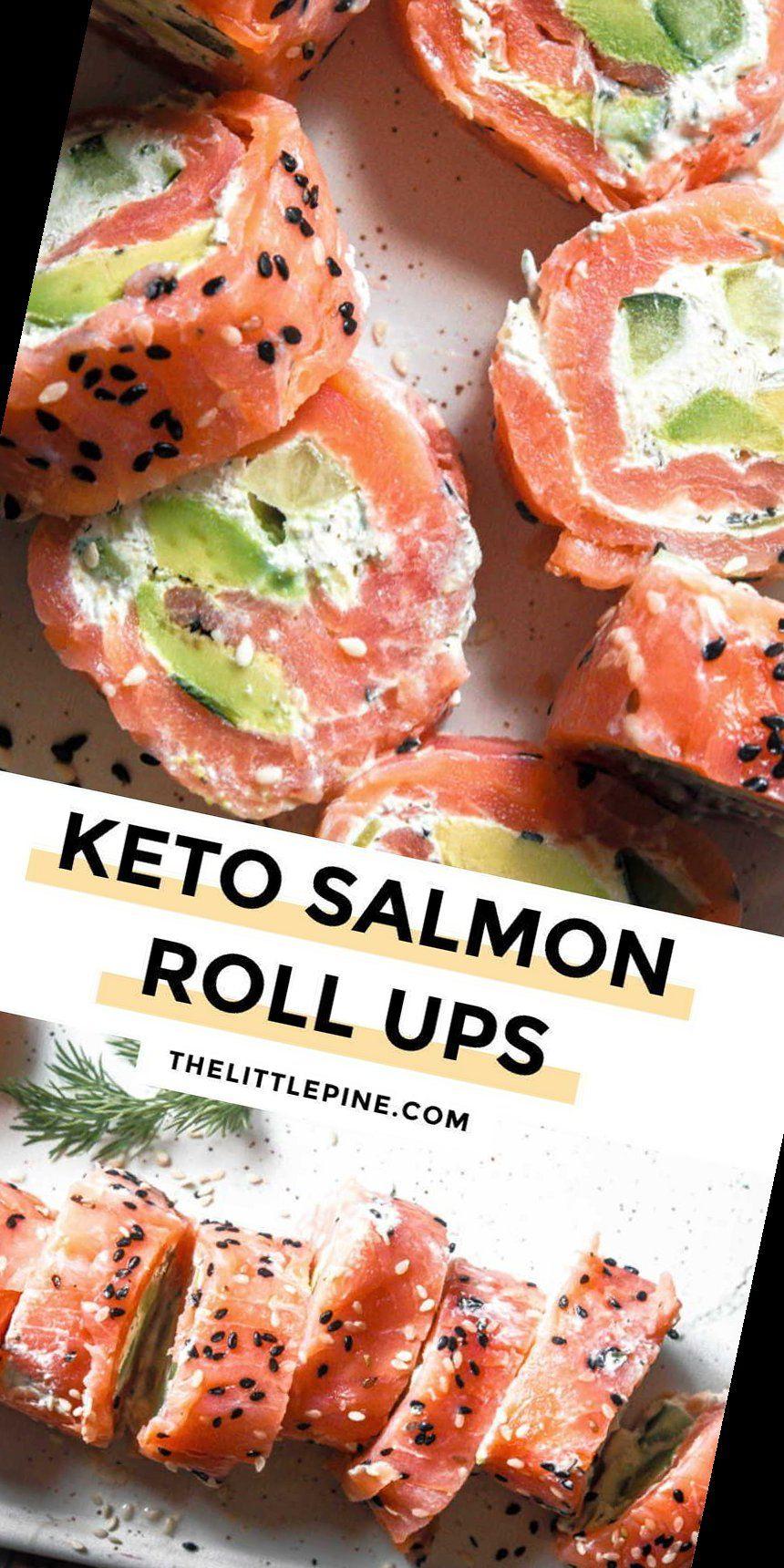 44+ Smoked Salmon Roll Ups | Keto Breakfast | 2020