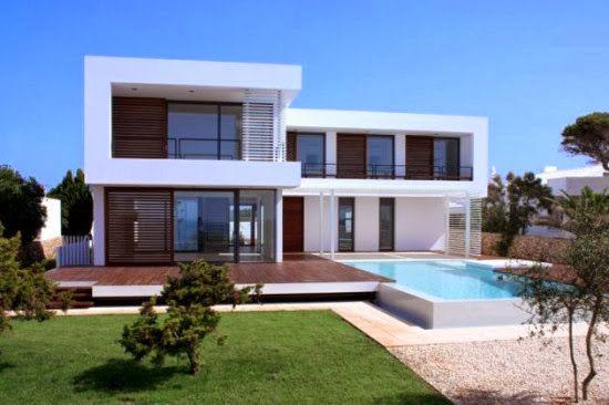Fachadas de casas modernas casas sem telhado for Casas duplex modernas