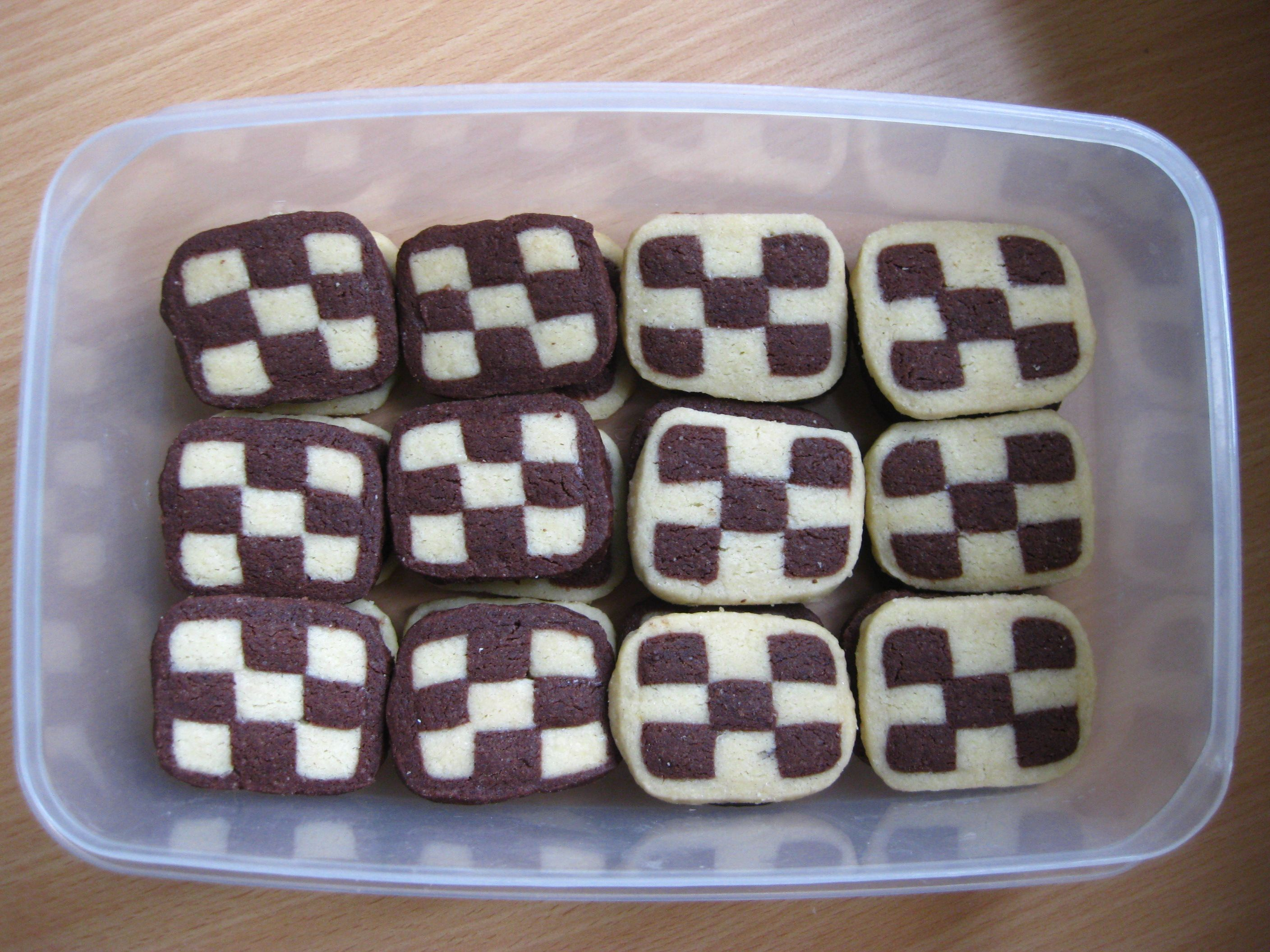 Fab Checkerboard Cookies