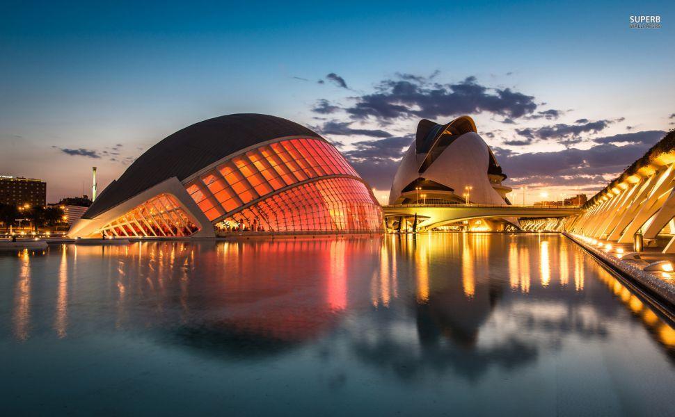Fondo Espana Hd: Ciudad De Las Artes Valencia