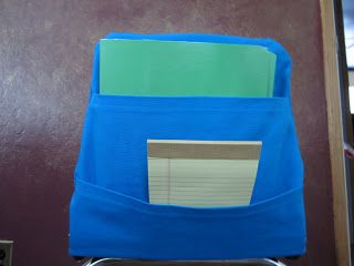 The Lower Elementary Cottage: Classroom Chair Pocket ...