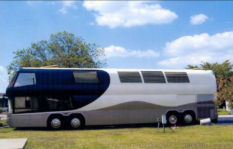 Detroit Series 60 Double Decker Motorhome