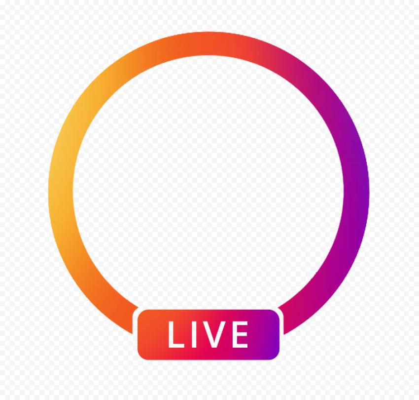 Instagram App Live Profile Circle Icon Circle Logos Logo Icons Icon