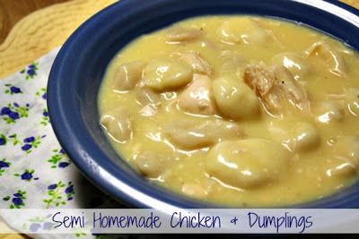Mommy's Kitchen - Old Fashioned  Country Style Cooking: Chicken  Dumpling's {Semi Homemade}