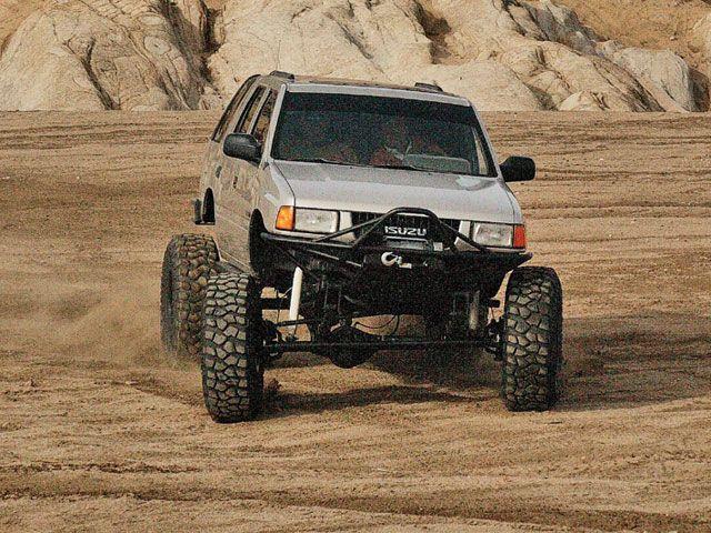 Wheel Isuzu Rodeo Black Buscar Con Google West Coast Customs Monster Trucks Pickup Trucks