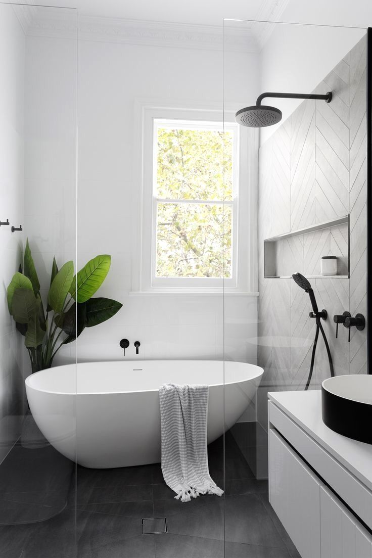 Bathroom Tile Design Ideas There Always Seem To Be Some Difficulty In Planning Things Out Espec Modern Farmhouse Bathroom Laundry In Bathroom Bathroom Design