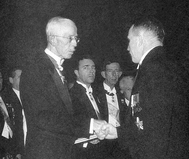 1945 Nobelin kemianpalkinto A. I. Virtaselle