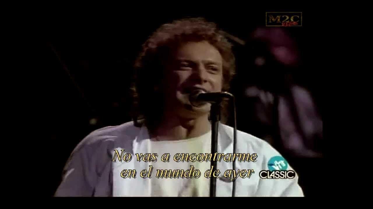 Foreigner That Was Yesterday Hd Subtitulado En Español Music Videos Music Music Songs