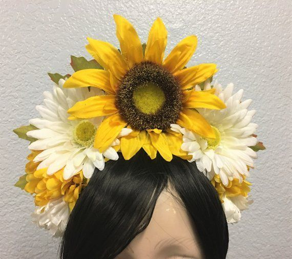 Sunflower Crown, Floral Crown, Flower Crown Headband, Flower Head Wreath, Floral Headpiece, Festival, EDC, Day of the Dead, Fall, Autumn #flowerheadwreaths Sunflower Crown, Floral Crown, Flower Crown Headband, Flower Head Wreath, Floral Headpiece, Festival, EDC, Day of the Dead, Fall, Autumn #flowerheadwreaths Sunflower Crown, Floral Crown, Flower Crown Headband, Flower Head Wreath, Floral Headpiece, Festival, EDC, Day of the Dead, Fall, Autumn #flowerheadwreaths Sunflower Crown, Floral Crown, F #flowerheadwreaths