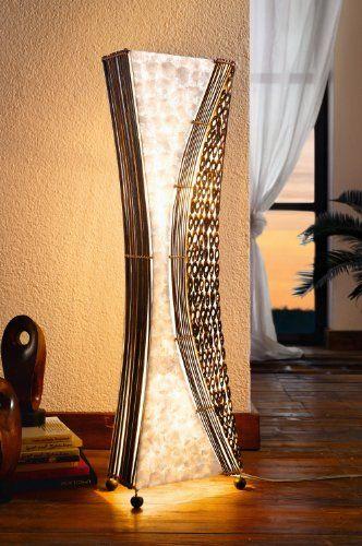 standard lamp Bali (EU-plug 2pins) @ £69.99 | Indonesia | Pinterest ...