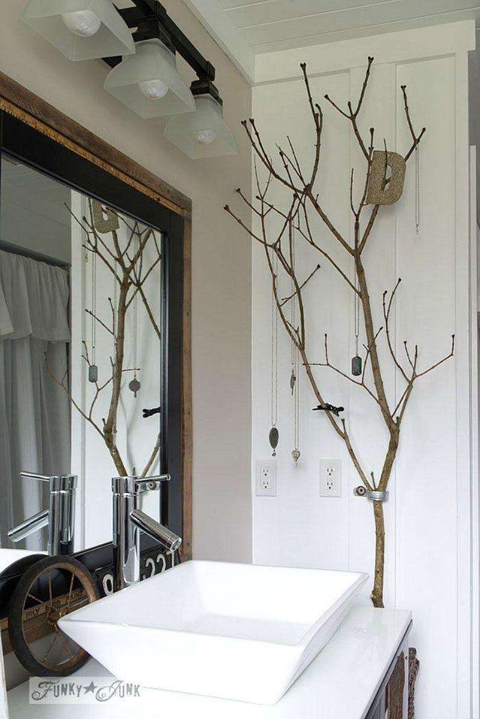 30 verbl ffende diy projekte aus zweigen und sten deko. Black Bedroom Furniture Sets. Home Design Ideas
