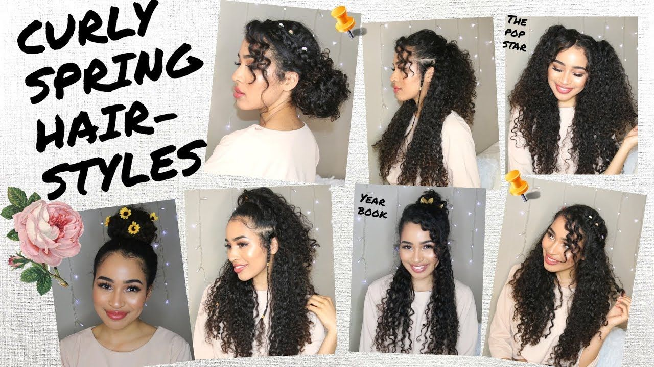 7 Spring Summer Hairstyles For Naturally Curly Hair By Lana Summer Youtube Curly Hair Styles Naturally Curly Hair Styles Beautiful Curly Hair