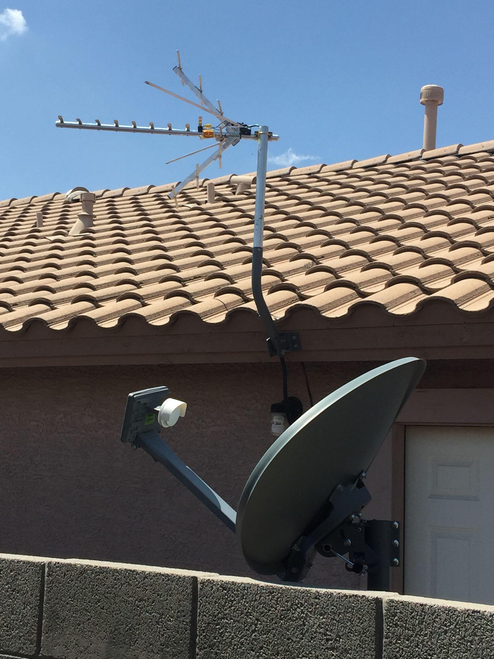 Free Hdtv Vs Paid Satellite Tv One Time Fee For Free Hdtv Www Freehdtvaz Com Satellite Dish Satellite Tv Hdtv Antenna
