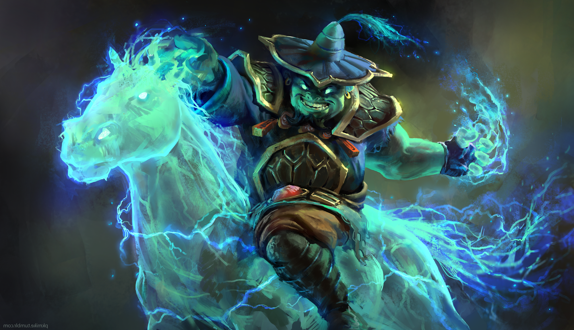 Dota 2 Storm Spirit Raijin Wallpapers Hd Desktop And Mobile