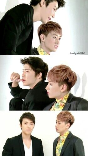 Donghae and Eunhyuk from Super Junior