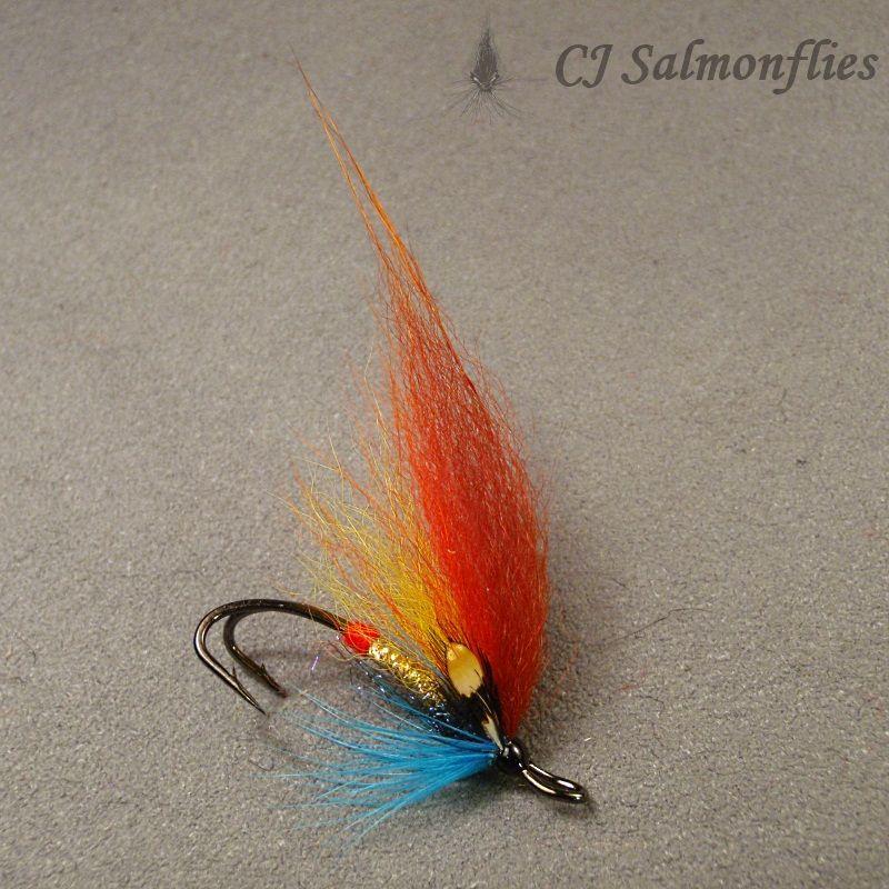 Den Vanlige Fly Fishing Salmon Flies Hair Wings