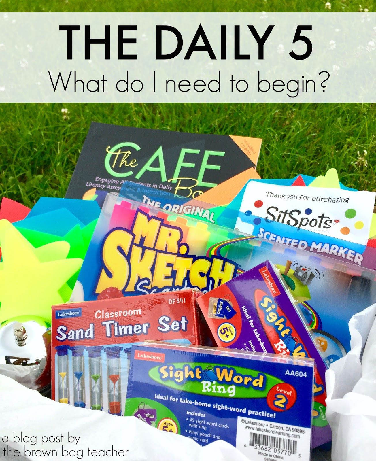 The Brown-Bag Teacher: The Daily 5: What Do I Need to Begin, Chapter 4