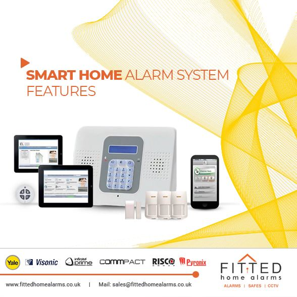 Smart Home Alarm Can Access From Anywhere, Anytime Set Up Easily Via  Smartphone Cloud Allows For Quick Control And Management Monitor Multiple  Hubsu2026