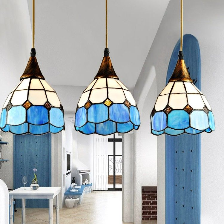 Probbe tiffany dome shaped 3 light pendant pendant lights probbe tiffany dome shaped 3 light pendant pendant lights ceiling lights lighting aloadofball Images