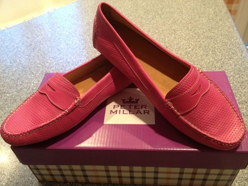 31ac9b9b3ac Peter Millar Leather Women s Loafer  lt 3 Penny Loafers