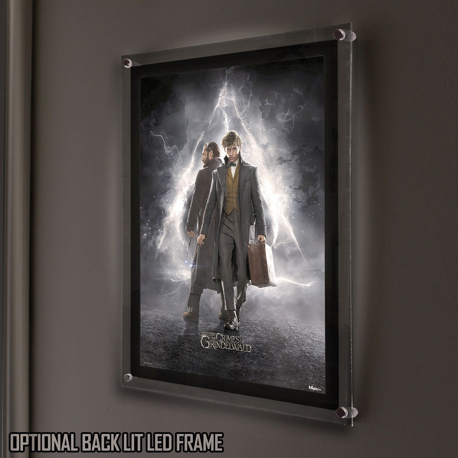 Fantastic Beasts 2 Mightyprint Backlit Led Frame Fantastic Beasts Fantastic Beasts 2 Beast